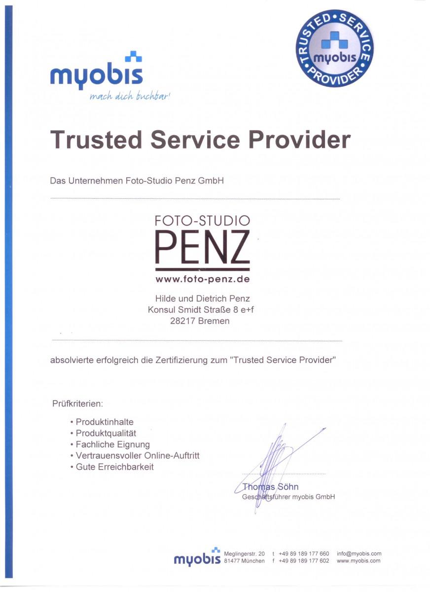 Urkunde_Trusted Service Provider_unterschrieben